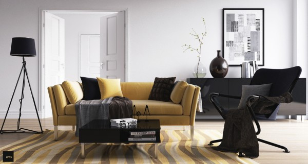 Black Velvet Sofa The Perfect Sofa For Minimalist Style 11