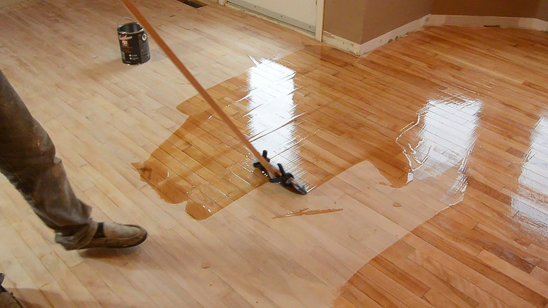 Restaining Hardwood Floors
