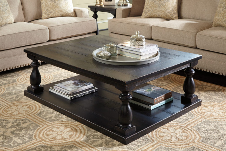 Mallacar Coffee Table, the Multifunctional Vintage-styled Table for Coffee Lovers