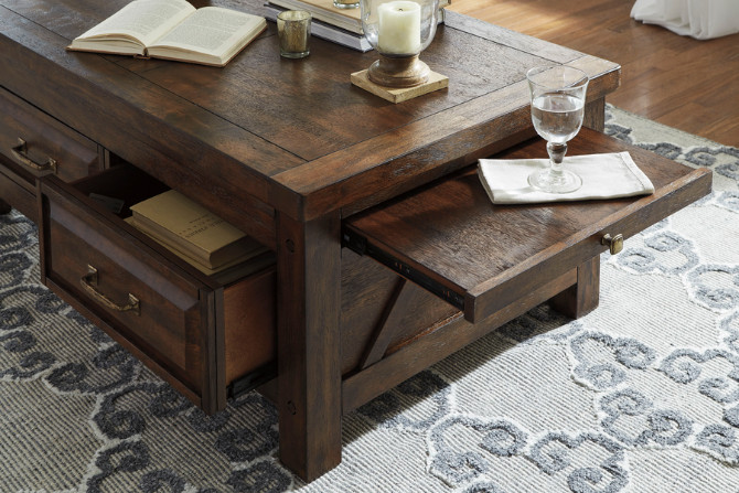 Windville Coffee Table and Its Vintage Designs for Great Room Decoration