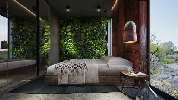 Plant Bedroom Wall