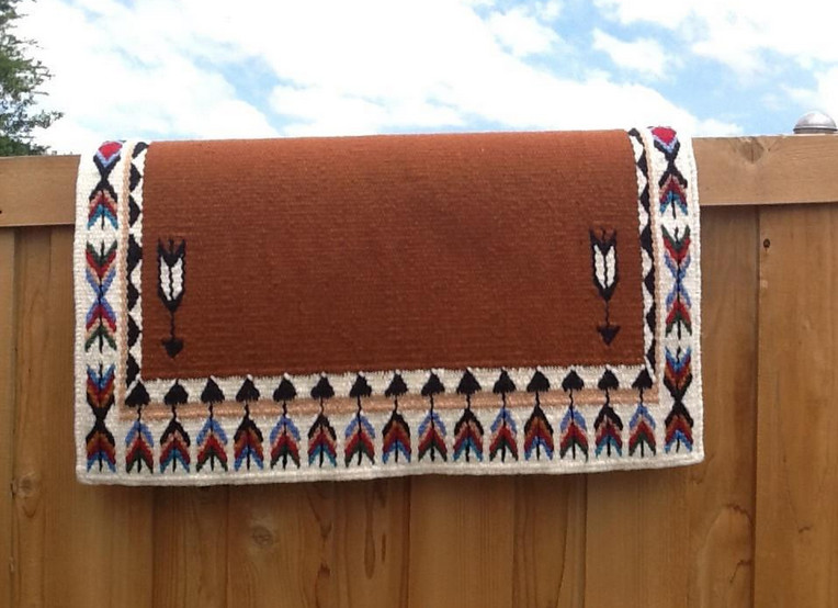 Yucca Flats saddle blanket