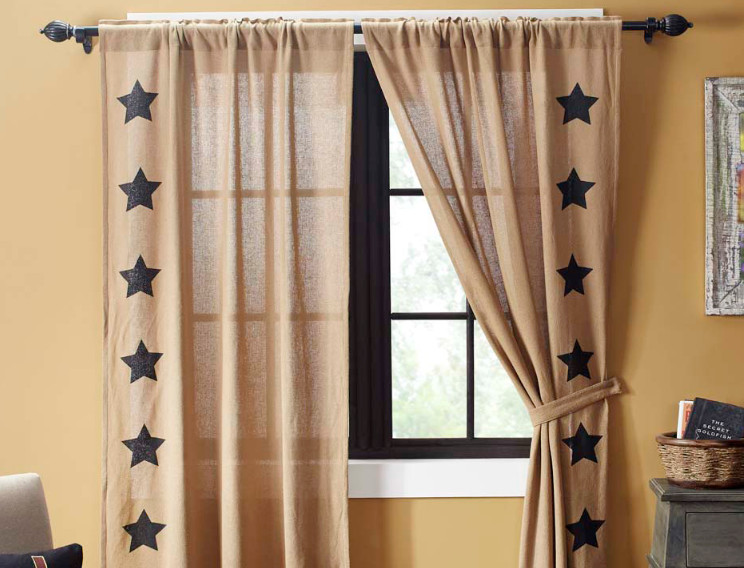 Primitive Curtains with Stars