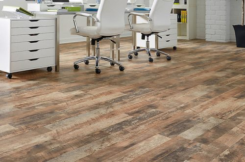 Wood Looking Linoleum Flooring
