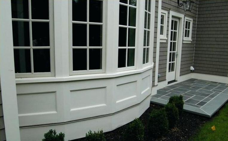 exterior wainscoting panels