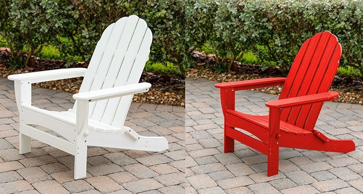 Polywood Adirondack Chairs in Costco as Foldable and Longer Lasting Outdoor Chairs