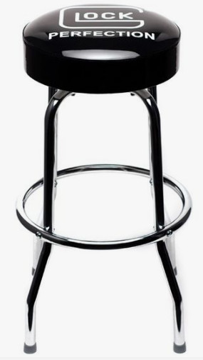 Glock bar stool