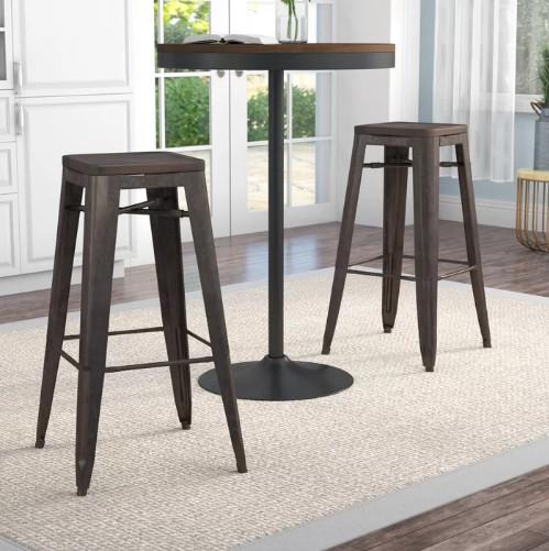 Isaac Mizrahi Bar stool without backrest