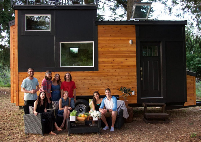 Tyson and Michelle Spiess Live in a Tiny House
