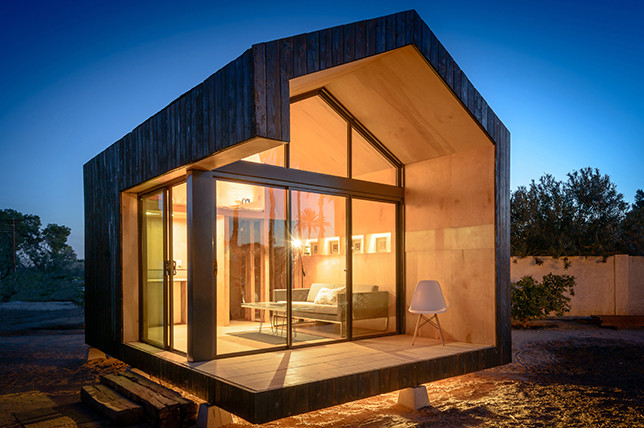 loftless tiny houses