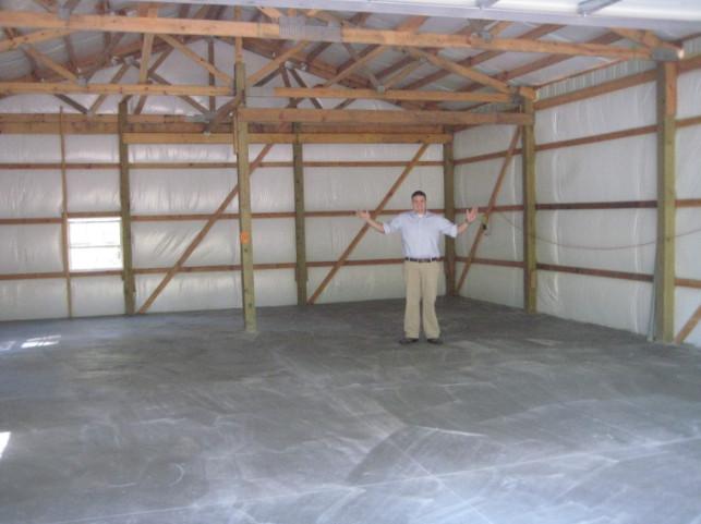 30x40x12 Pole Barn