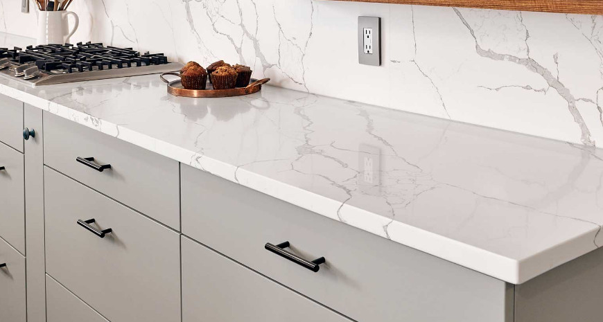 Calacatta Laza Quartz, the Ideal Choice for Kitchen Countertops