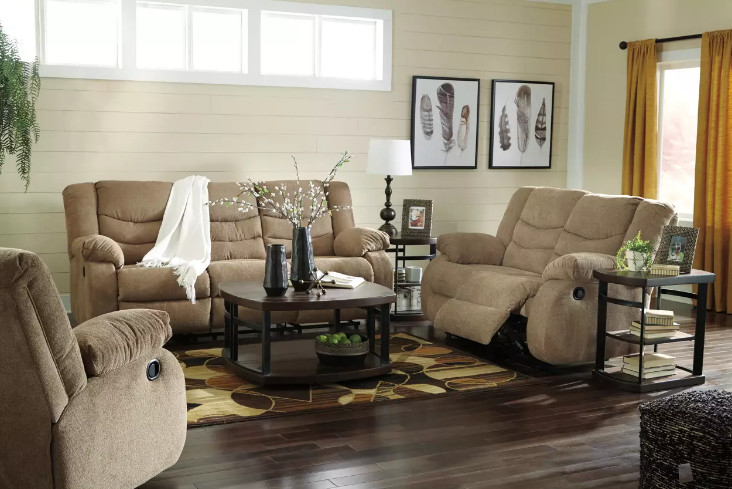 Ashley Tulen Reclining Sofa Features to Know before You're Making a Purchase