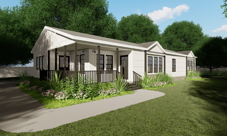 Clayton Homes Lulamae Modern Farmhouse Architectural Designs and Features 1