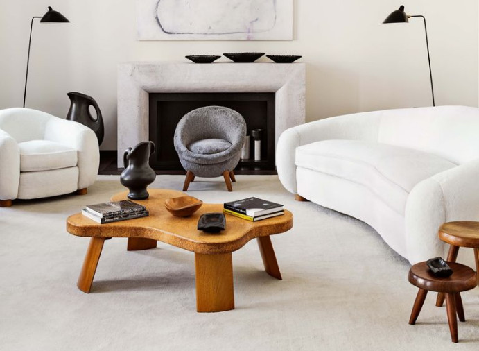 Jean Royere Polar Bear Sofa