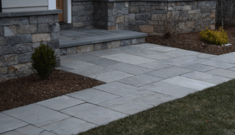 Natural Cleft Bluestone as the Most Stunning, Long-lasting, and Practical Natural Material