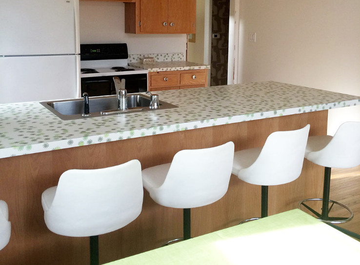 Retro Formica Countertops, and Why it's Better than Natural Material