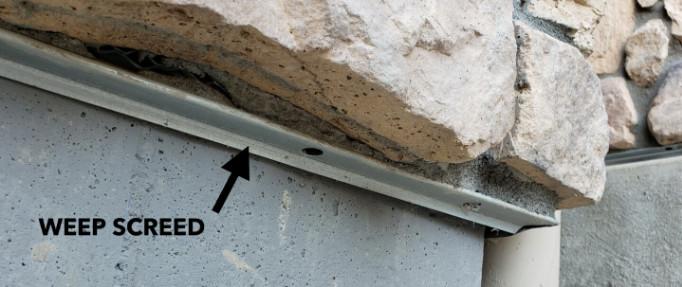 Weep Screed Stone Veneer Importance that Everyone Should Understand