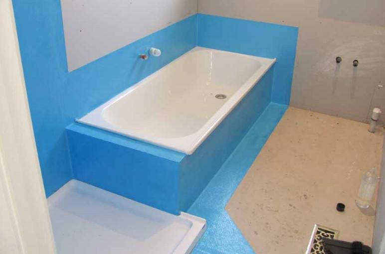 backer board waterproofing