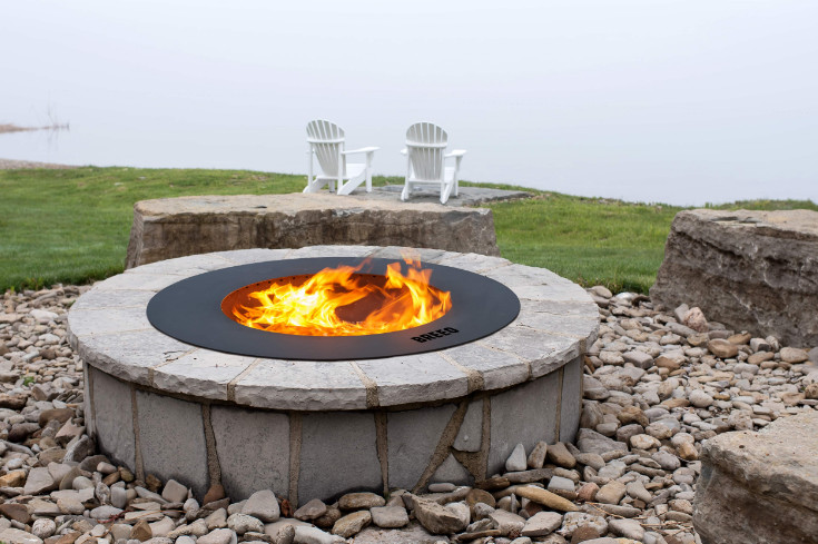 Zentro Fire Pit as the Eco Friendly Smokeless Technology