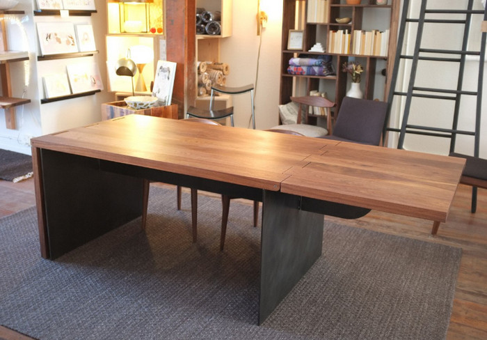 Narrow Extendable Dining Table Benefits for Small Houses and Apartments 5