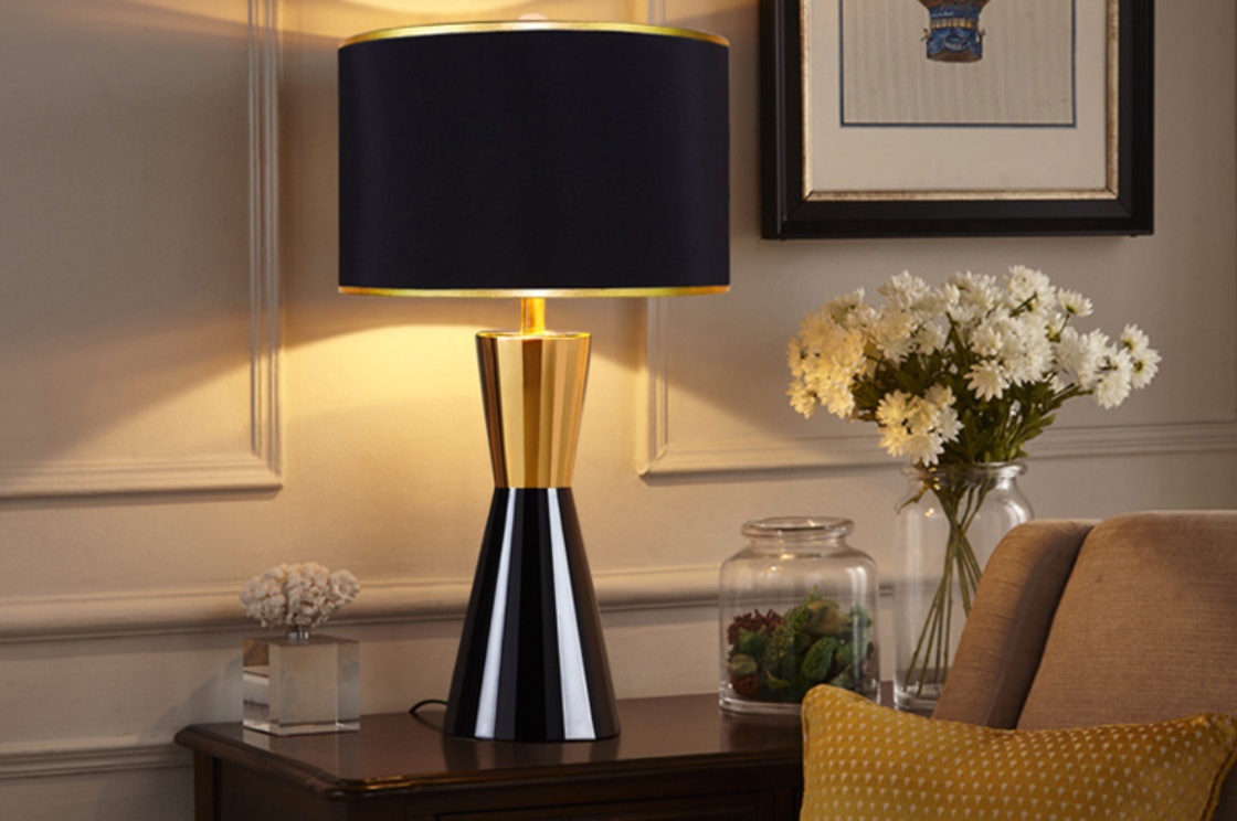 Shadeless Table Lamps to Enhance Your Lovely Bedroom Looks