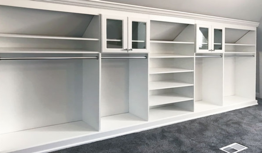 Sloped Ceiling Closet Solutions and Know What's the Essentials First before Making the Closet 2