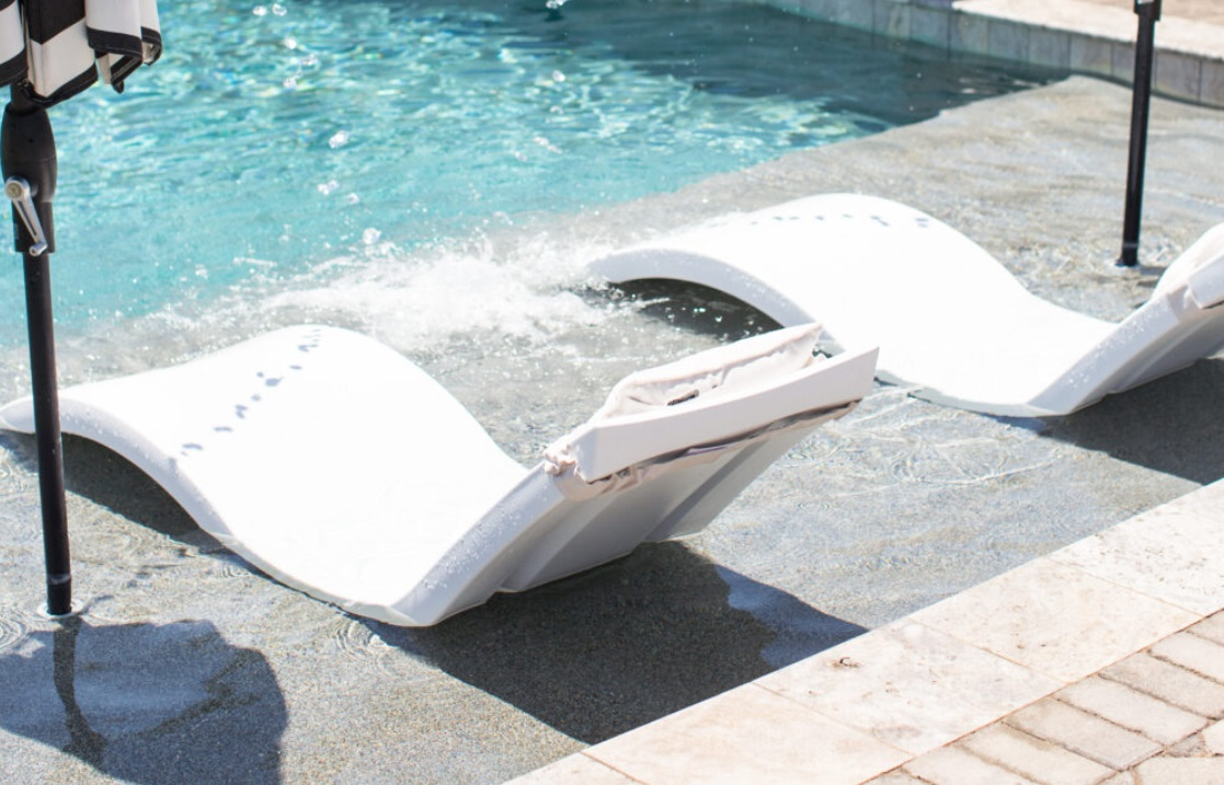 Tanning Ledge Chairs, the In-Pool Furniture that You Never Want to Miss
